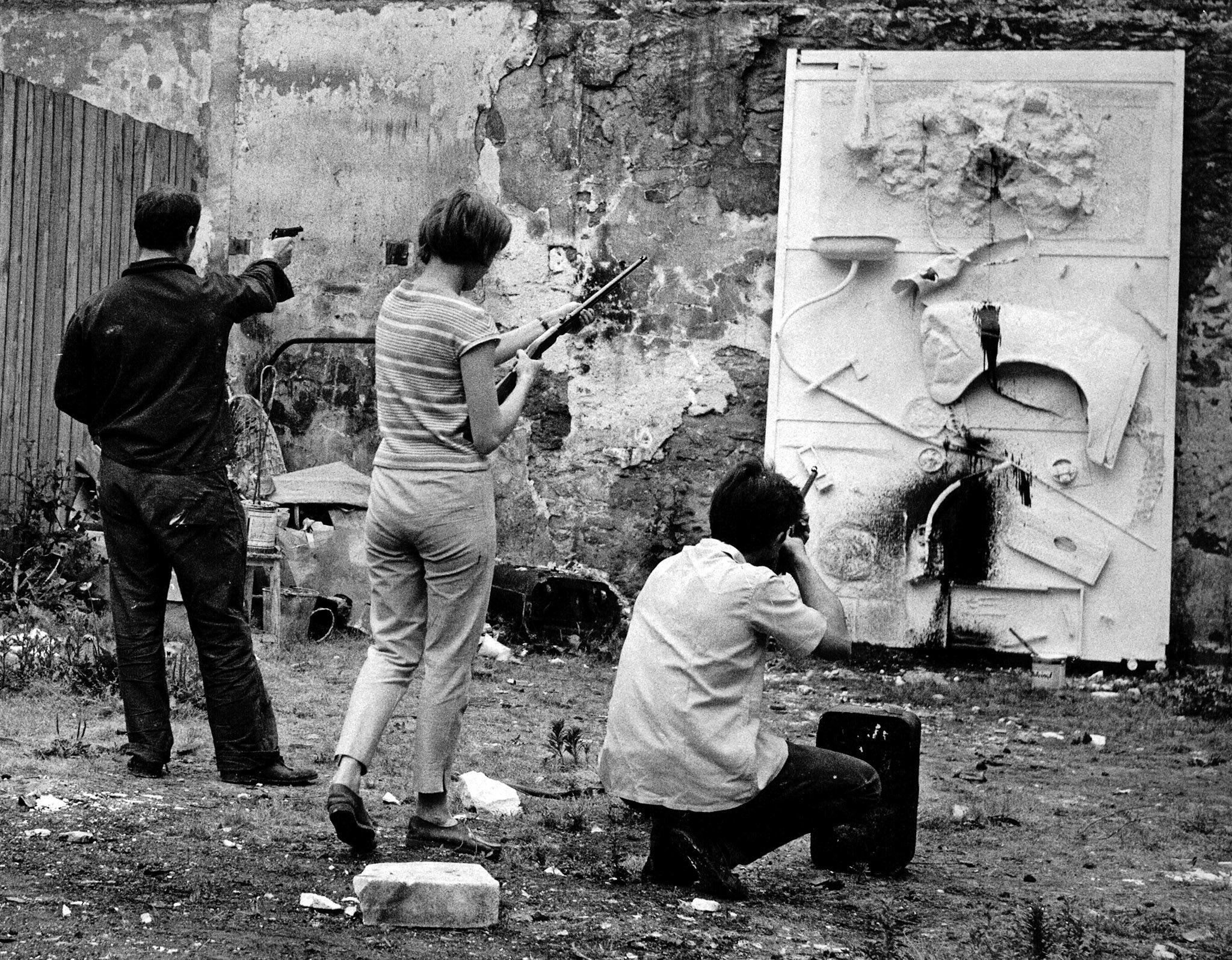 Niki de Saint Phalle, Ronsin, 1961