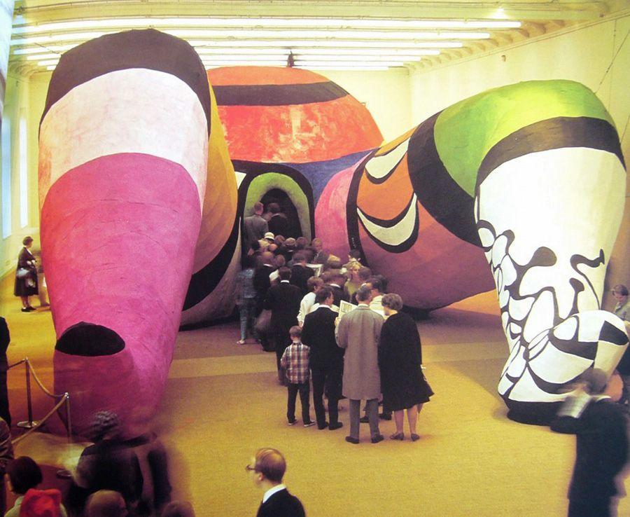Niki de Saint Phalle, Hon, 1966, Stockholm, Sweden, Moderna Museet