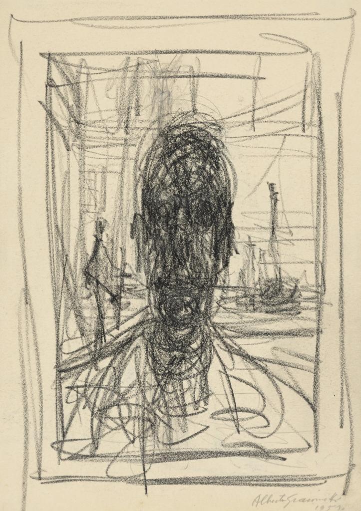 Alberto Giacometti, Portrait, 1951, MoMA.