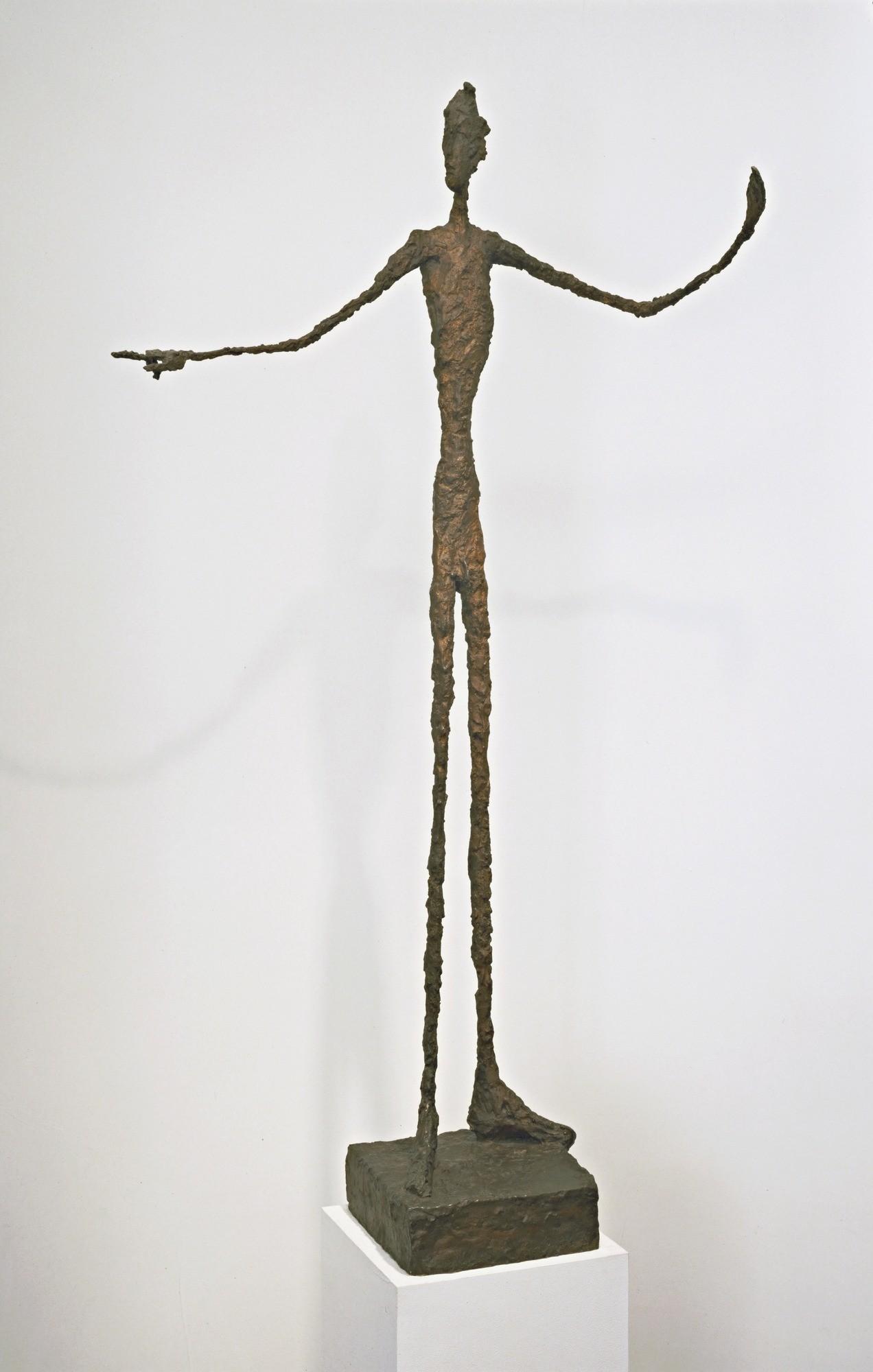 Bărbatul arătând cu degetul, Alberto Giacometti, 1947, MoMa
