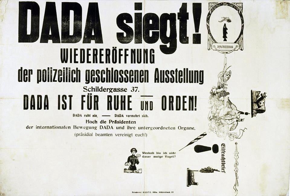 Max Ernst Dada siegt! (Dada Triumphs!)
