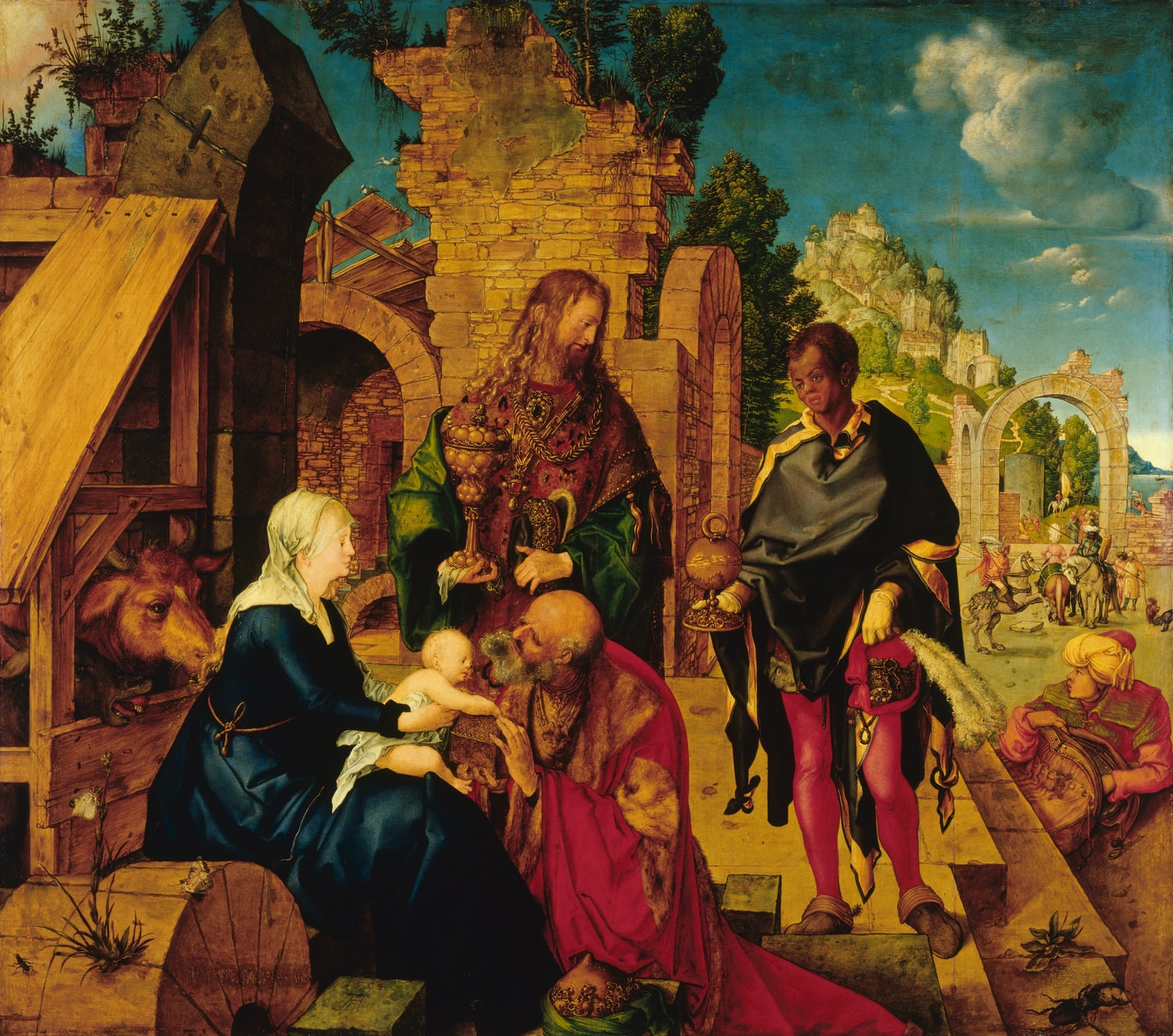 Adorația Magilor, 1504, Albrecht Dürer (cc. Corbis)