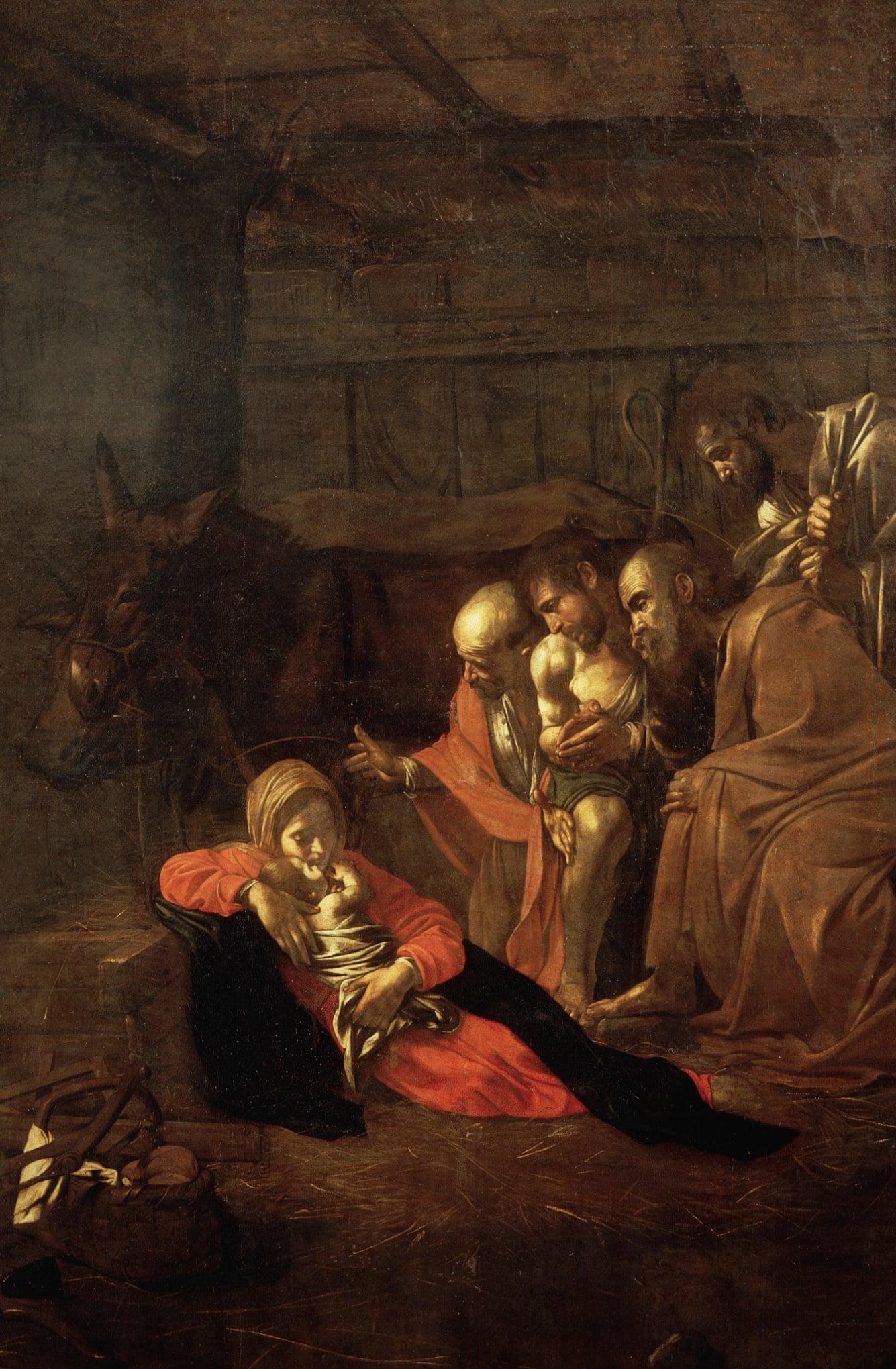 Adorația Păstorilor, Caravaggio (1609)