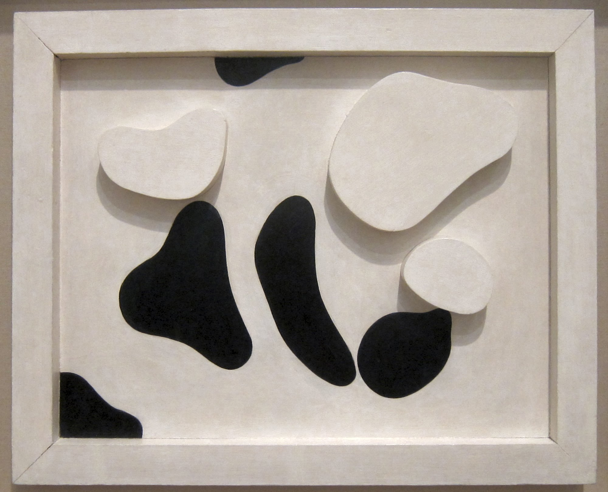Constellation According to the Laws of Chance, aluminium sculpture by Jean Arp (Hans Arp), c. 1930, Tate Modern