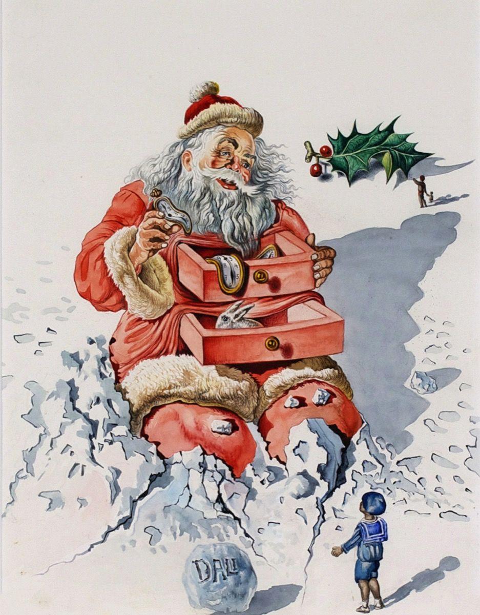 Salvador Dalí, Santa with Drawers, 1948.