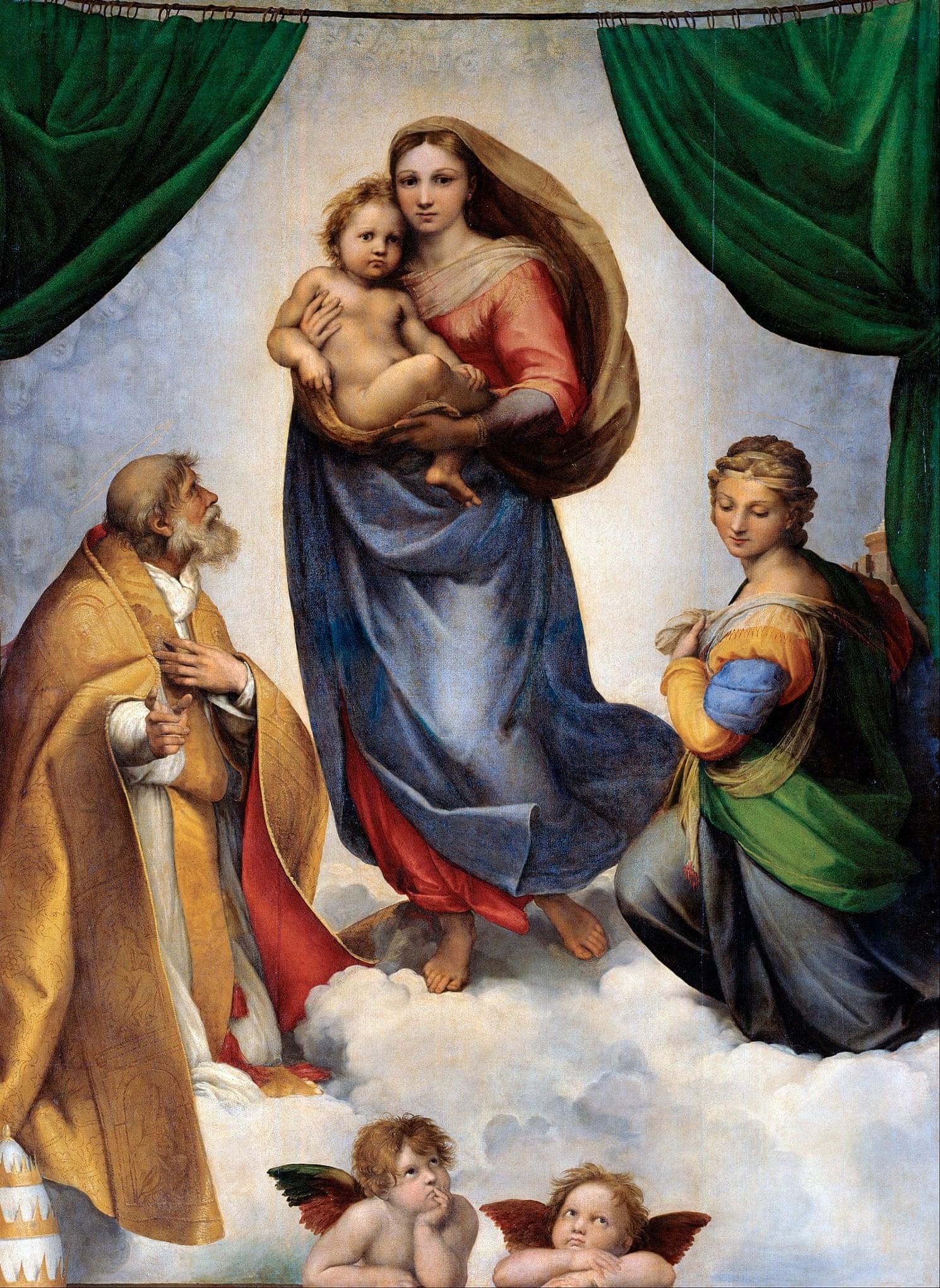 The Sistine Madonna, Raphael