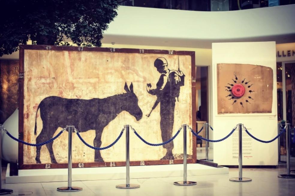 Donkey Documents, Banksy, 2007