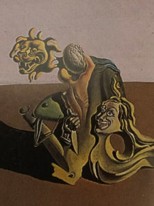 Enigma dorinţei sau Mama mea, mama mea, mama mea, (1929), detaliu