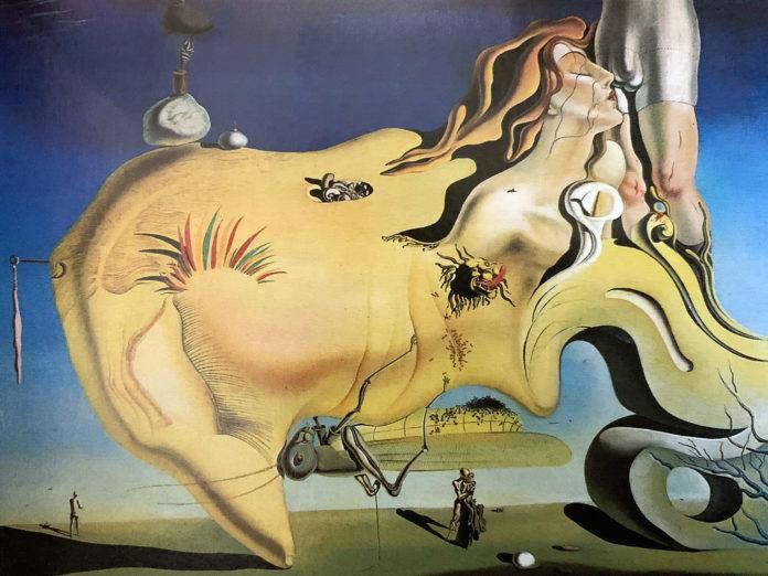 Marele masturbator (1929), Madrid, Muzeul Centrului Naţional de Artă Regina Sofia