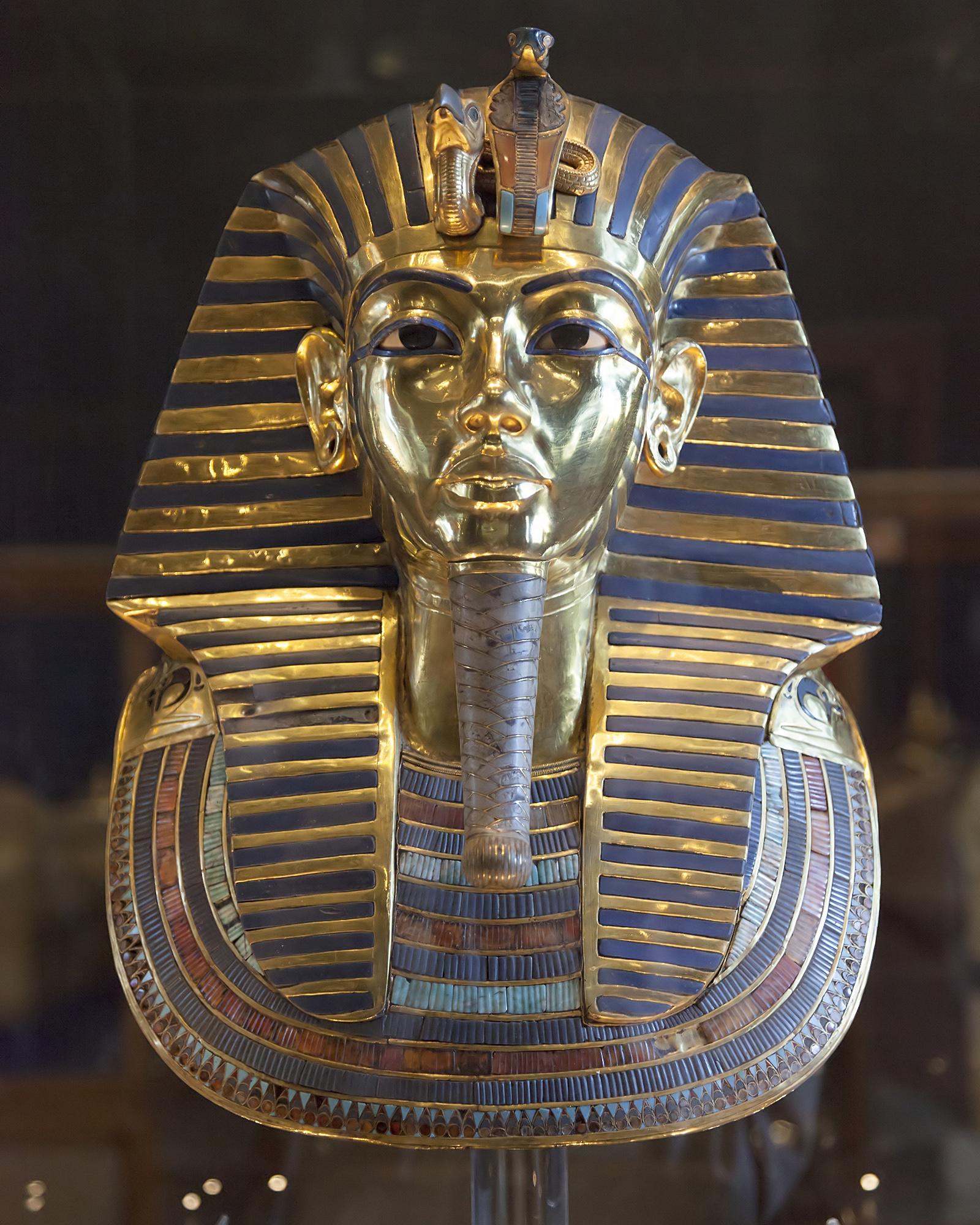 Mască funerară egipteană