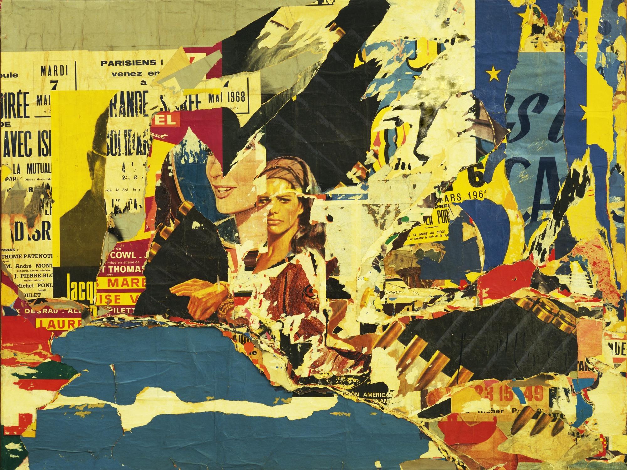 Jacques Villegle (collage)