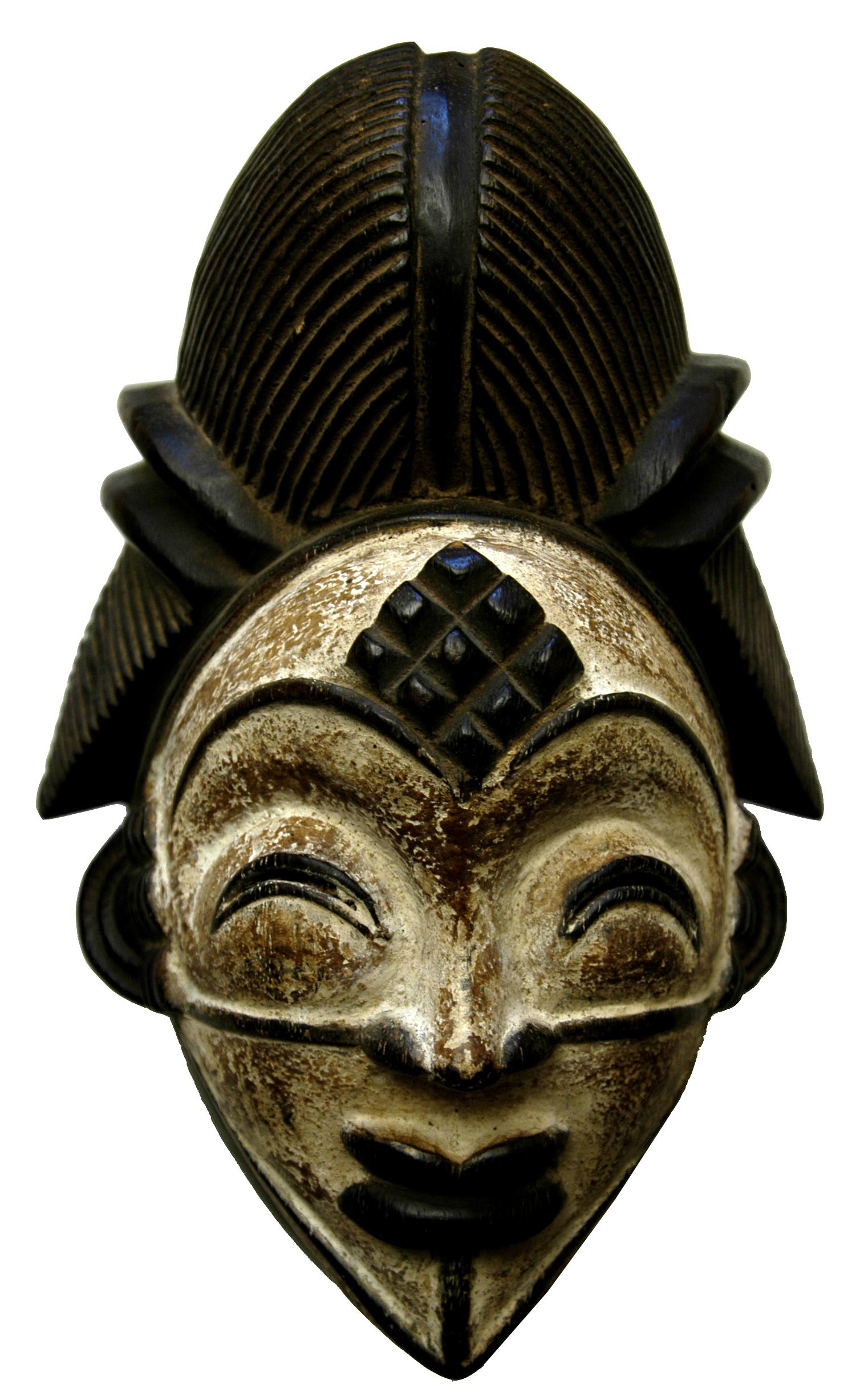 Mască funerară africană