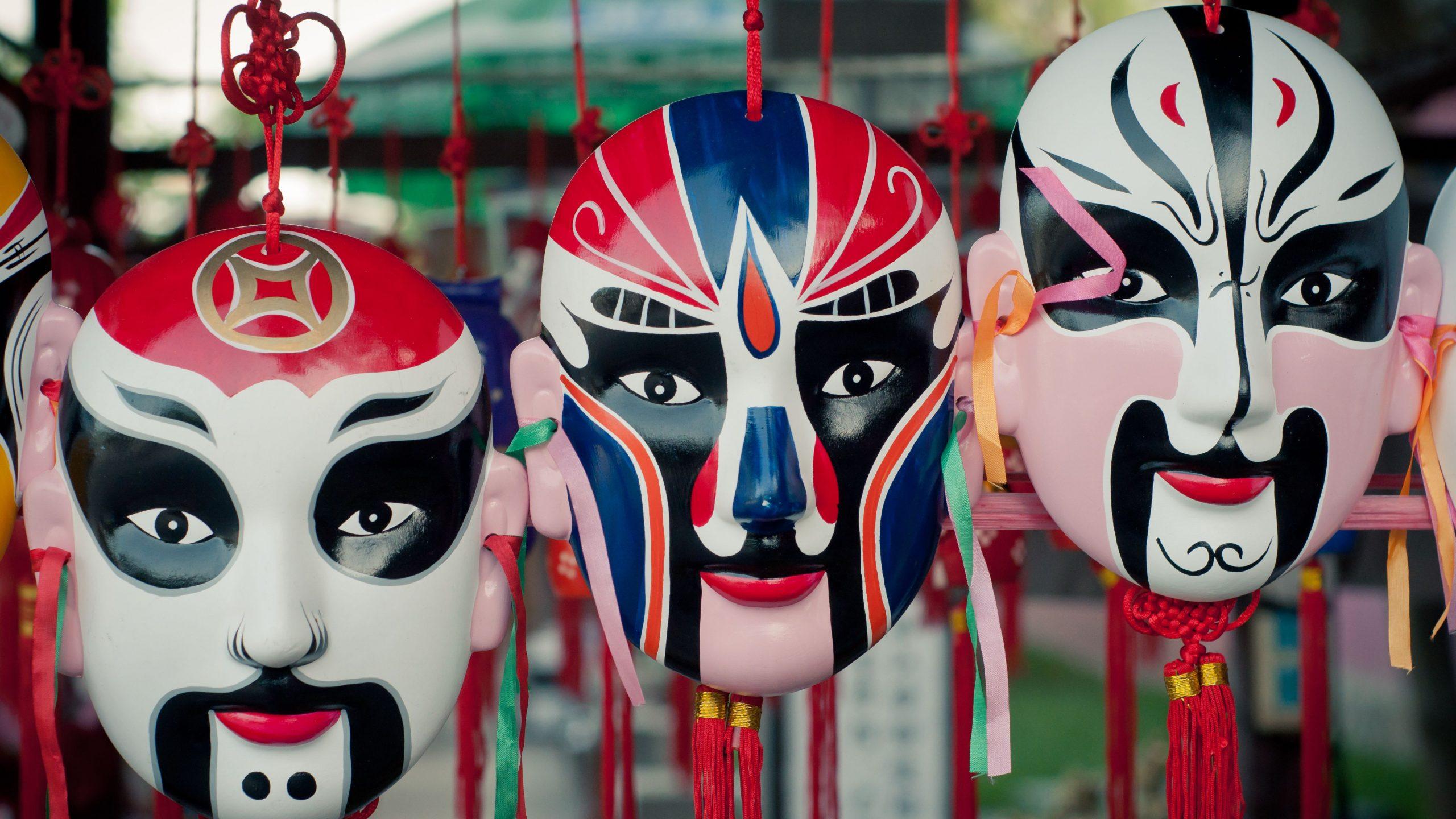 Măști de opera, Beijing
