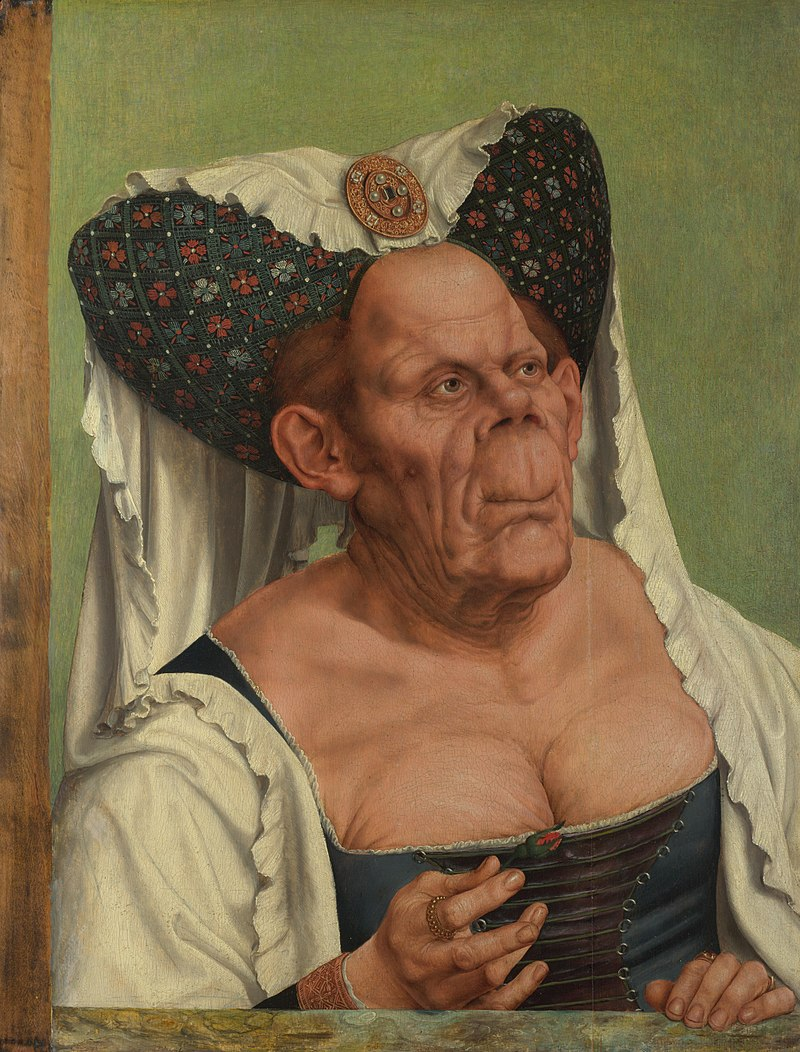 Quentin Matsys, The Ugly Duchess, 1513